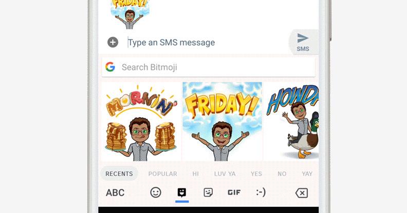 Gboard Adds Sticker and Bitmoji Support, Just in Case GIFs and Emoji Weren't Enough