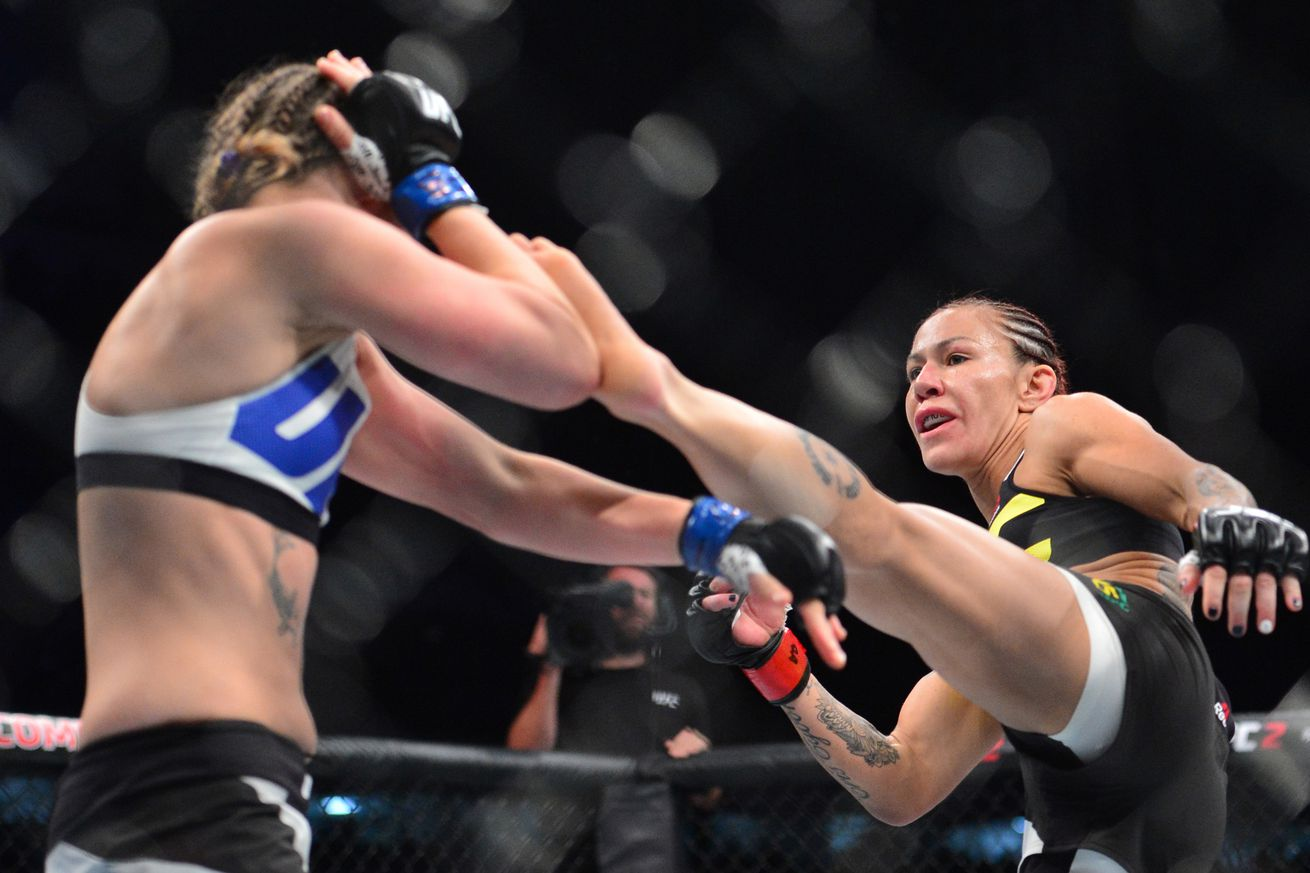 UFC 198 results recap:  Cris Cyborg vs Leslie Smith fight review and analysis