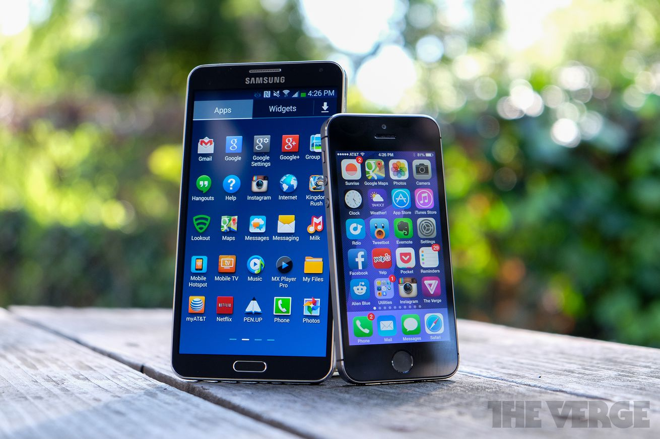 Phone Choosing An Android Phone iphone or android its time to choose your religion the verge