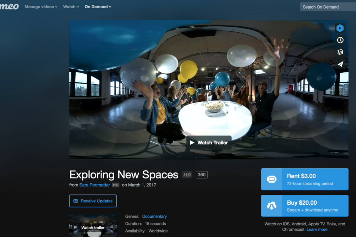 Vimeo Takes On YouTube, Facebook With 360-Degree Video Support