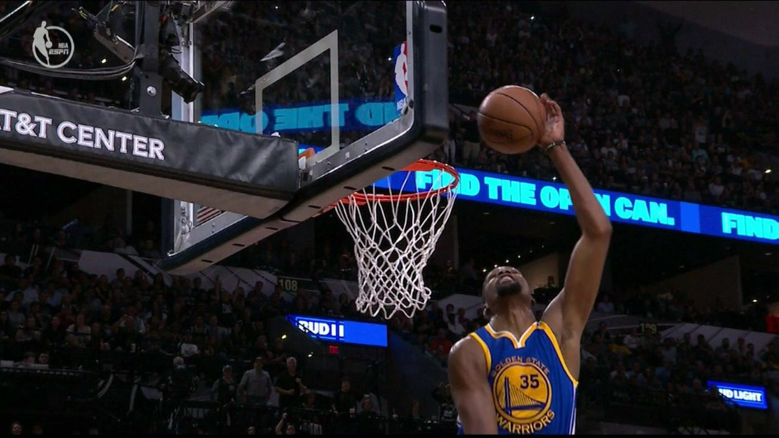 Kevin Durant blocked one Dejounte Murray shot twice ...