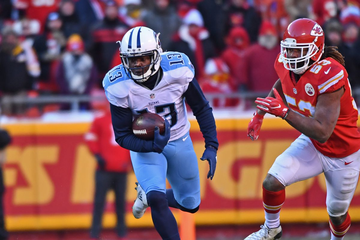 Chicago Bears to sign WR Kendall Wright