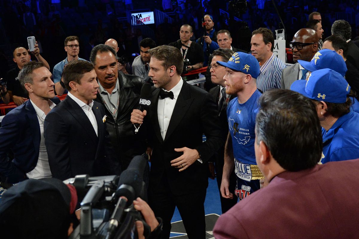 Alvarez-Golovkin could be anywhere