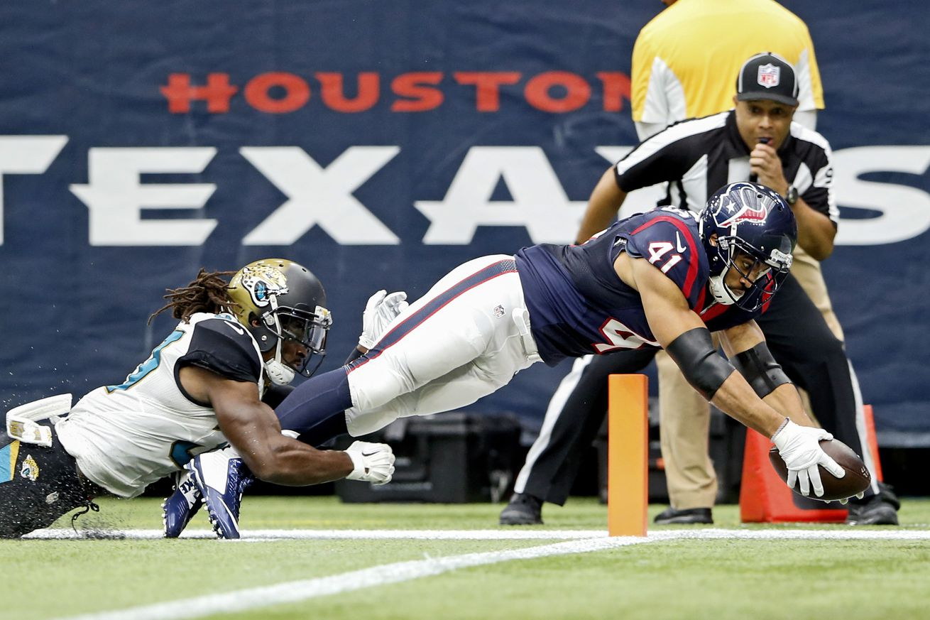 2016 Houston Texans Training Camp Competition: Running Back (Part ...