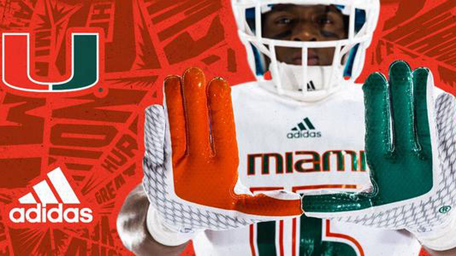 The Miami Hurricanes New Football Uniforms Are