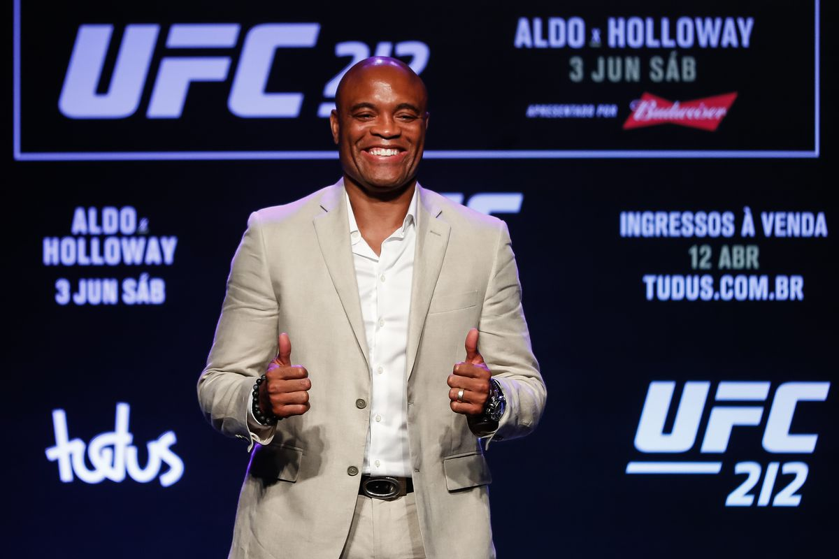 Anderson Silva officially out of UFC 212