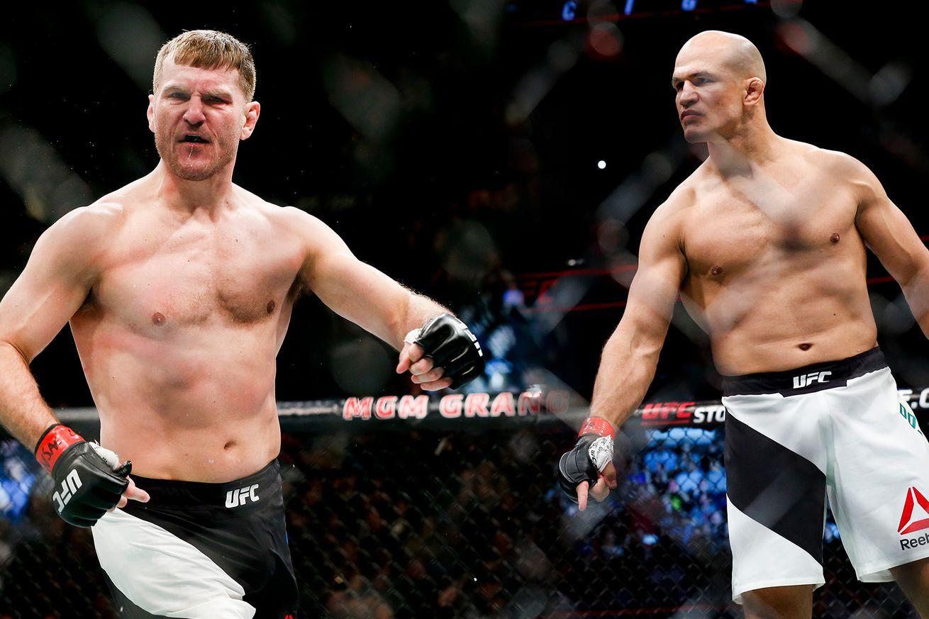 UFC 211 Timeline: Stipe Miocic vs. Junior dos Santos 2