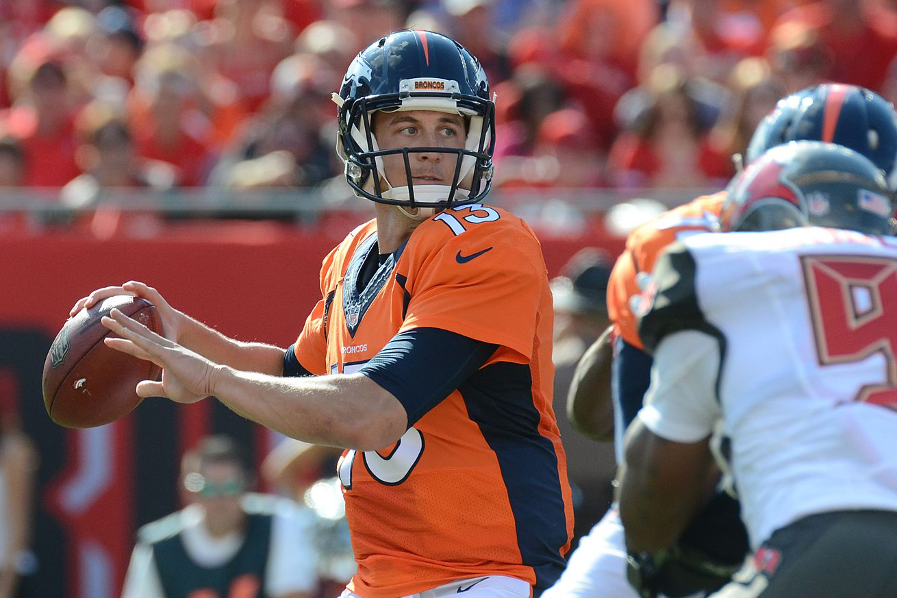 Broncos Chargers participation report: Trevor Siemian very close to returning to action