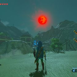 red moon shrine - photo #1