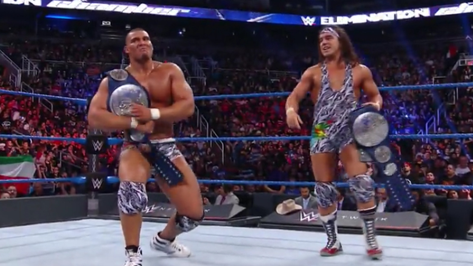 WWE Elimination Chamber 2017 results: American Alpha retain tag team titles