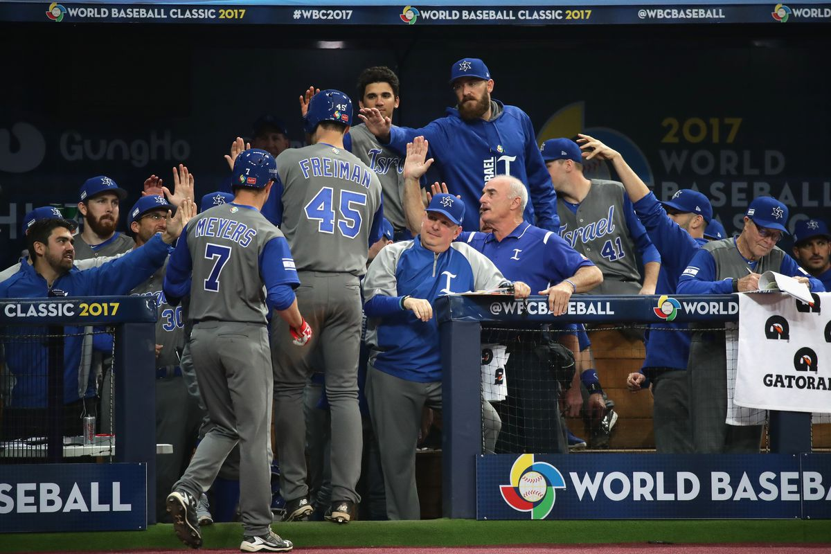 Israel tops South Korea in 2017 World Baseball Classic opener