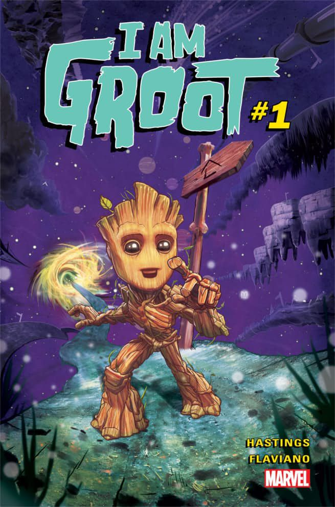 Image result for i am groot comic book
