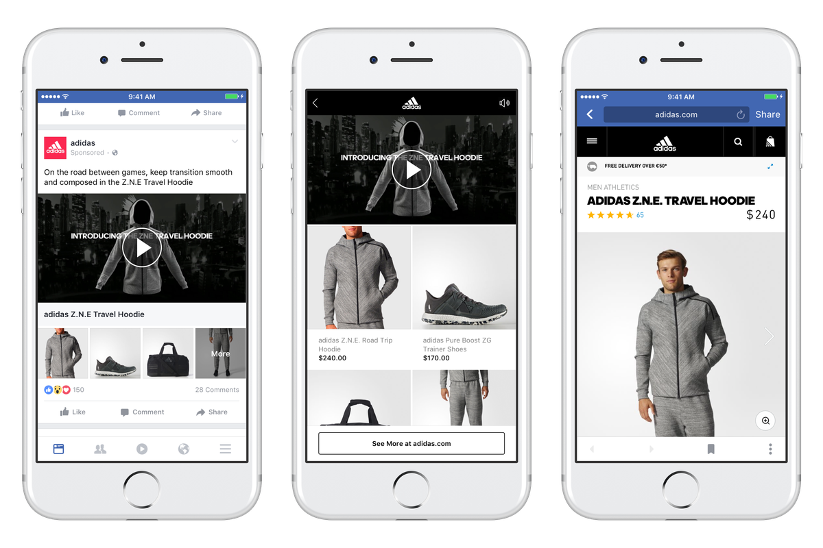Facebook's New Video Ad Format Aims to Make Ecommerce Easier