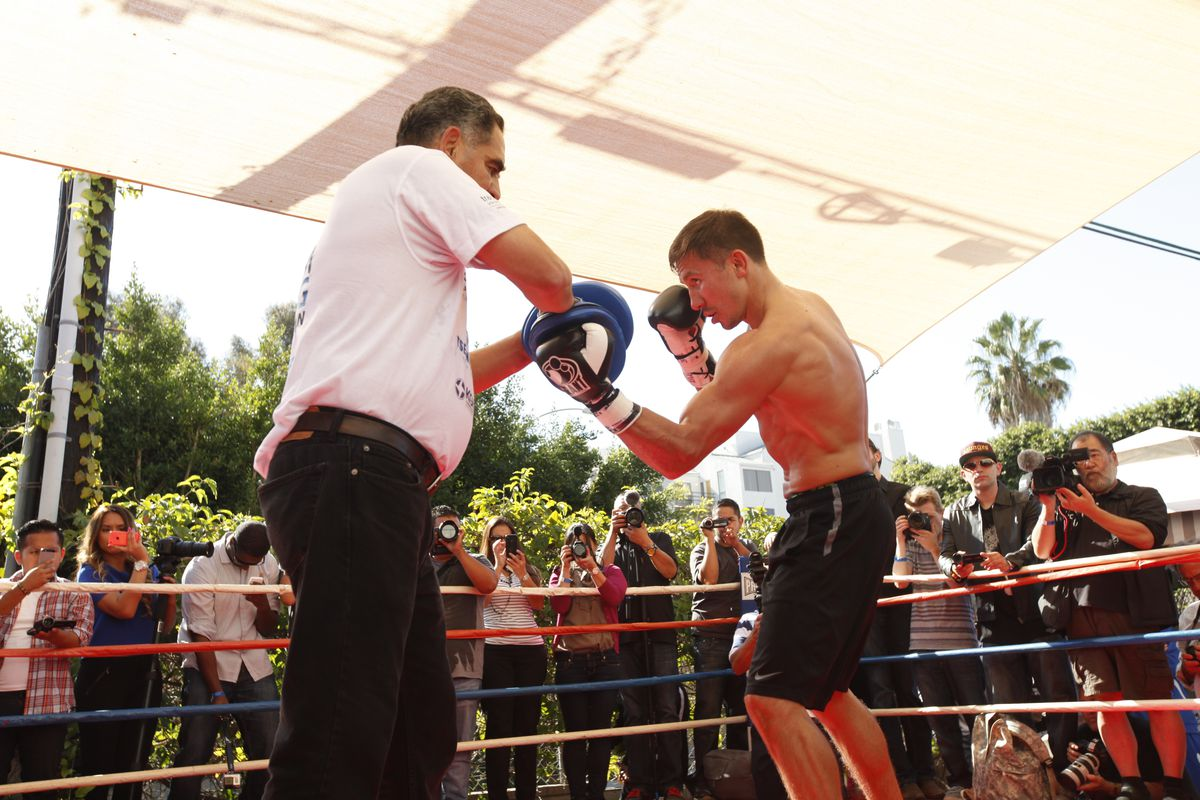 Gennady Golovkin in control, but not in his usual manner