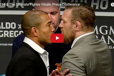 community news, Live! UFC 194, TUF Finale press conference video stream from Las Vegas