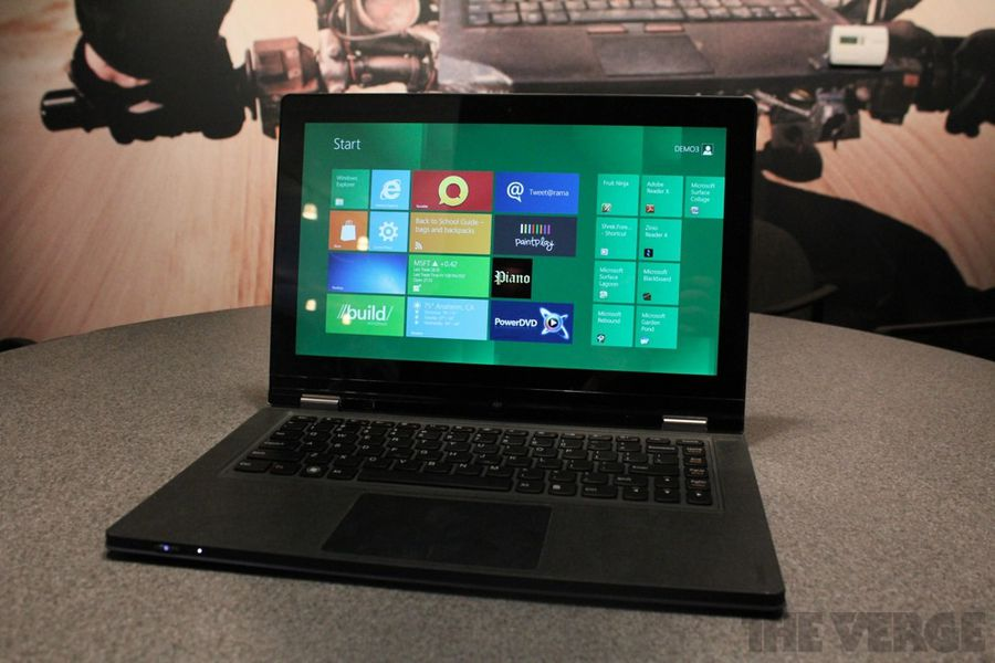 Lenovo IdeaPad Yoga: a Windows 8 laptop that bends ...