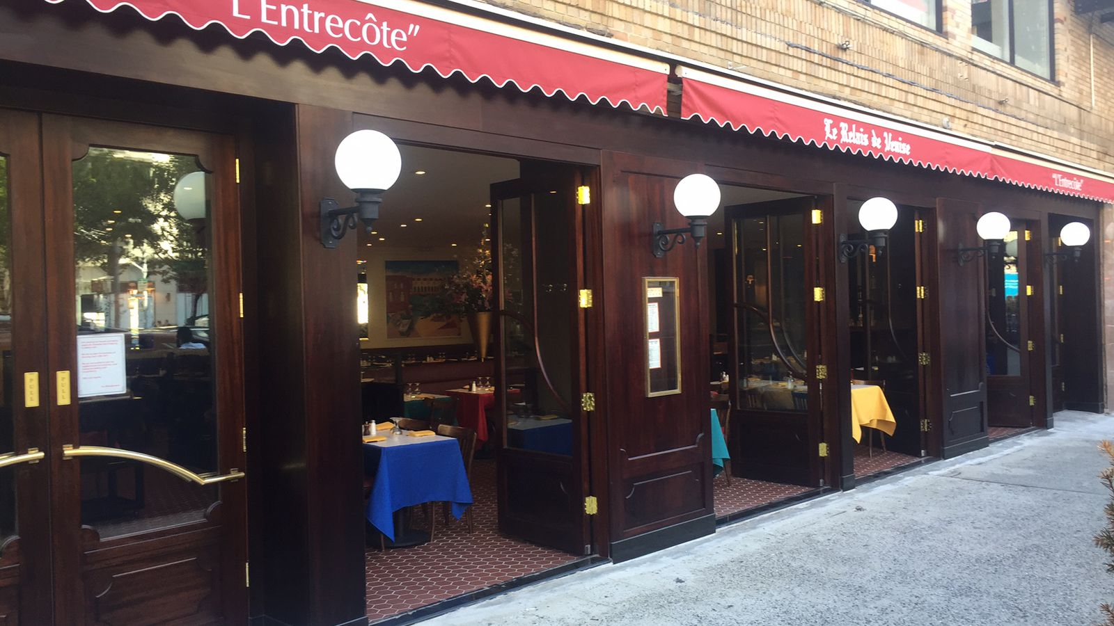 Entrecote Restaurant New York