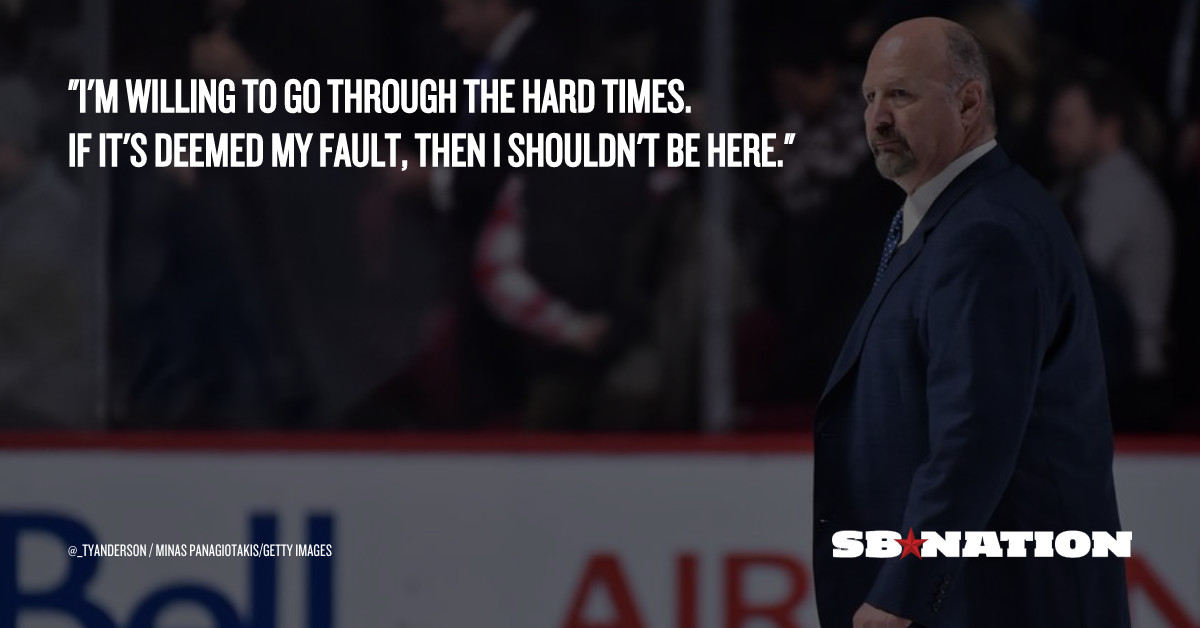 Bruins coach Claude Julien gets philosophical about his job security