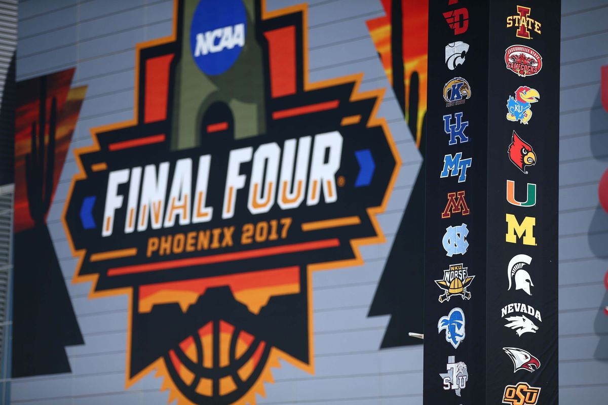 NCAA FINAL FOUR: S. Carolina, Oregon, Gonzaga and N. Carolina