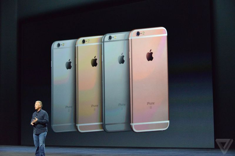 new Rose Gold color for iPhone 6S