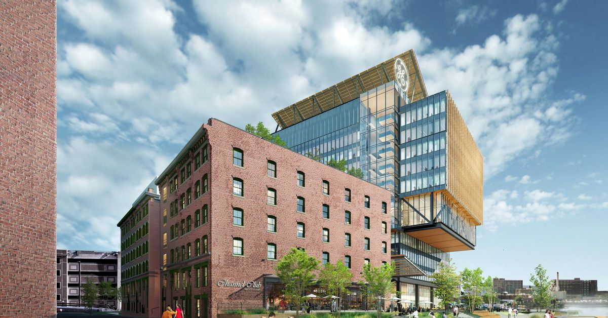 General Electric Headquarters Renderings Lack A Parking