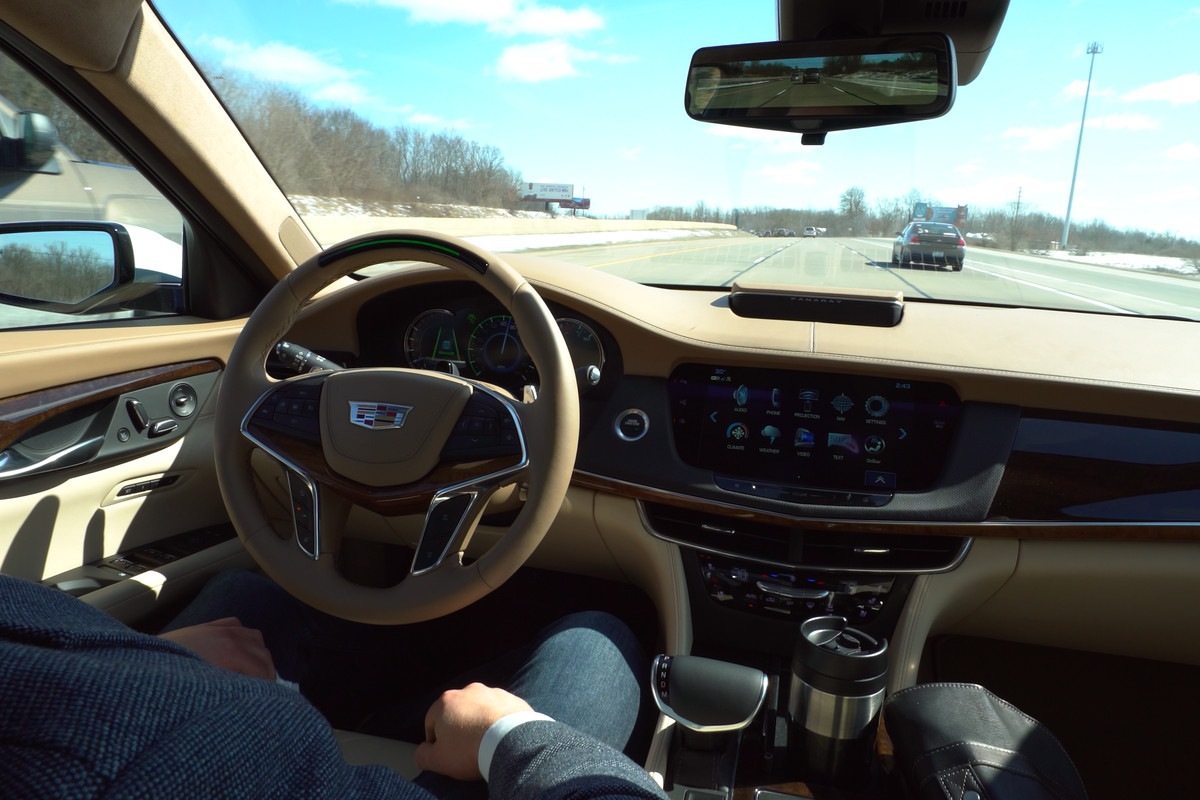Cadillac Super Cruise On 2018 CT6 Lets Drivers Go Hands
