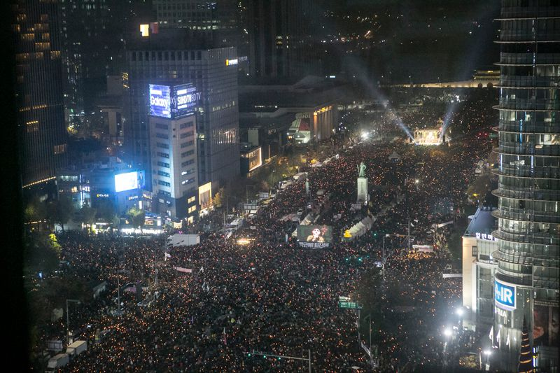 Anti-Park Rally Continues In Seoul