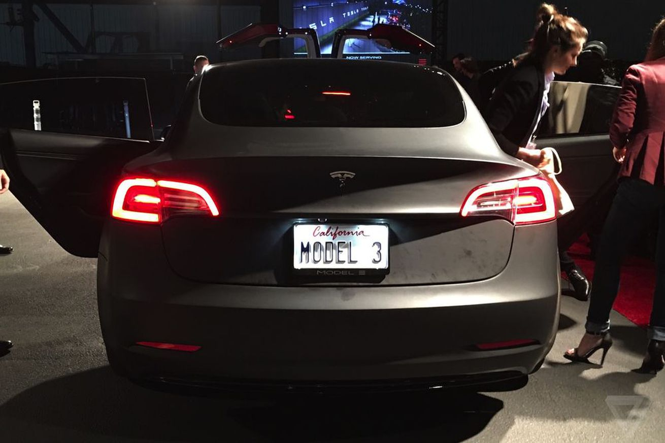Tesla says the Model S, not the Model 3, is its flagship car