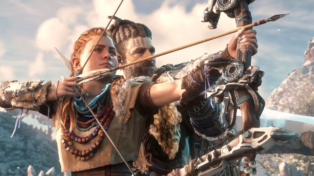 Image result for horizon zero dawn friends lance riddick