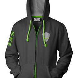 Here's Genji's hoodie. All the following hoodies will be released in September.