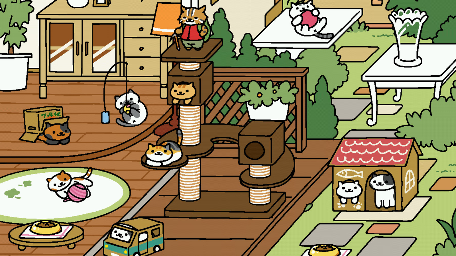Cat Collecting Game Neko Atsume Is Getting A Live Action