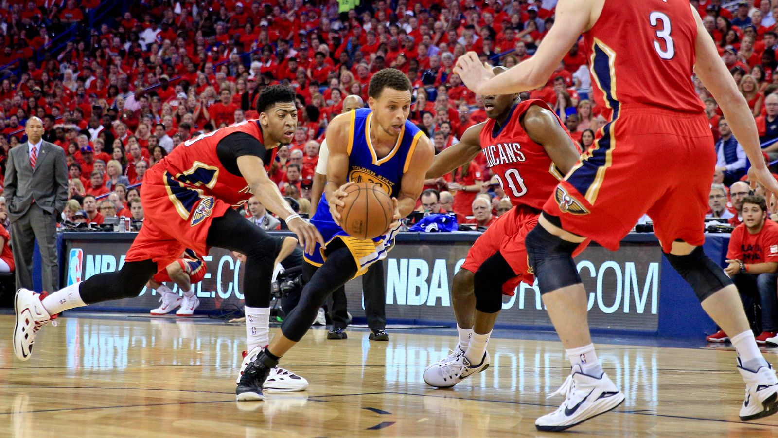 Warriors Vs Pelicans Final Score Nba Playoffs 2015 3
