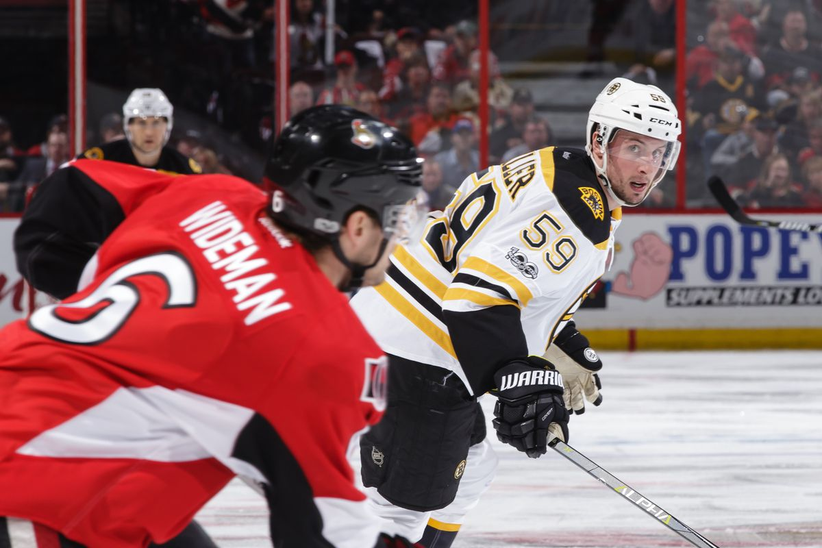 Phaneuf scores in OT as Senators tie series against Bruins