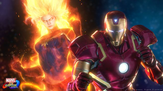 Here's our first look at Marvel vs. Capcom Infinite gameplay