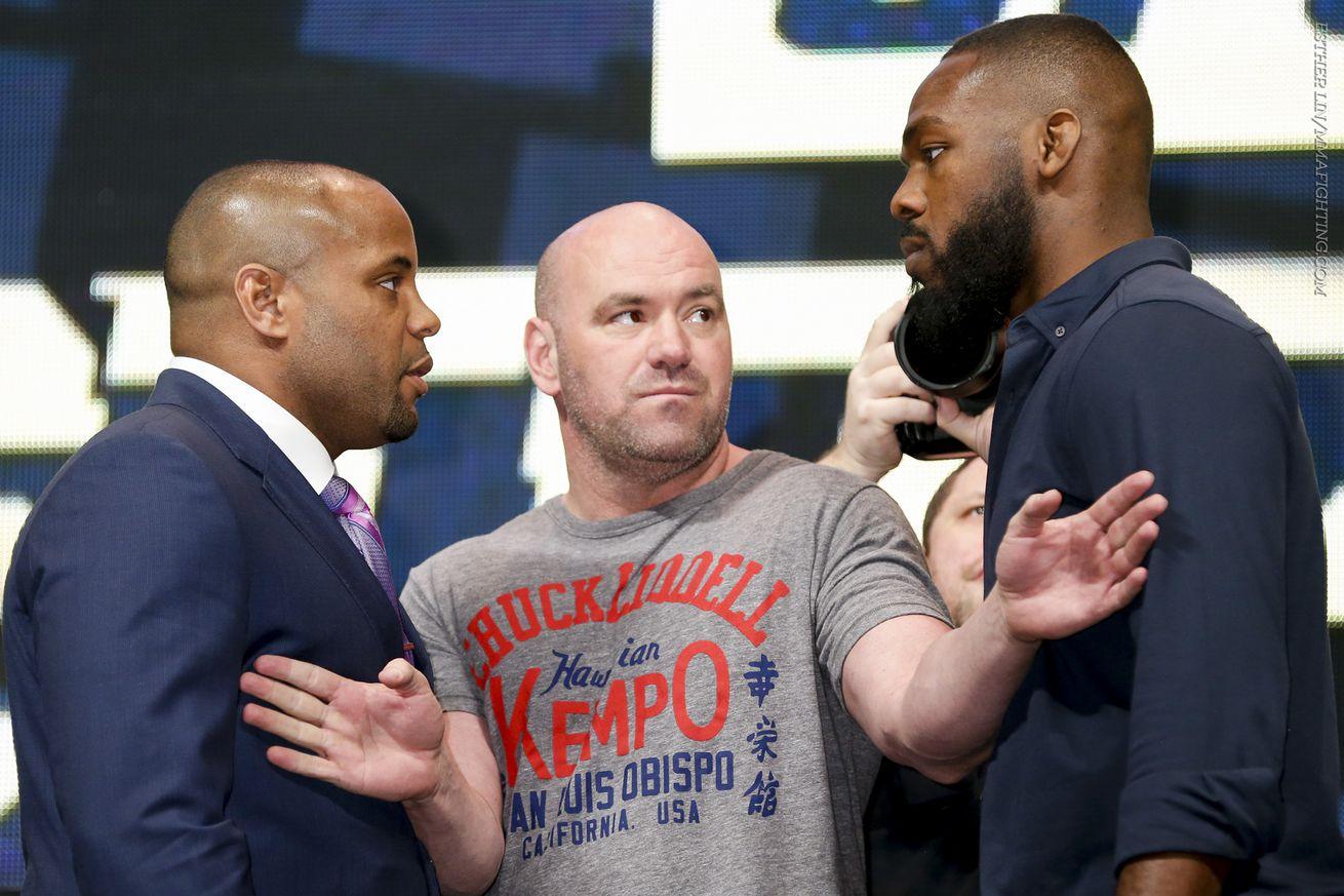 community news, Daniel Cormier vs. Jon Jones 2 targeted for UFC 214