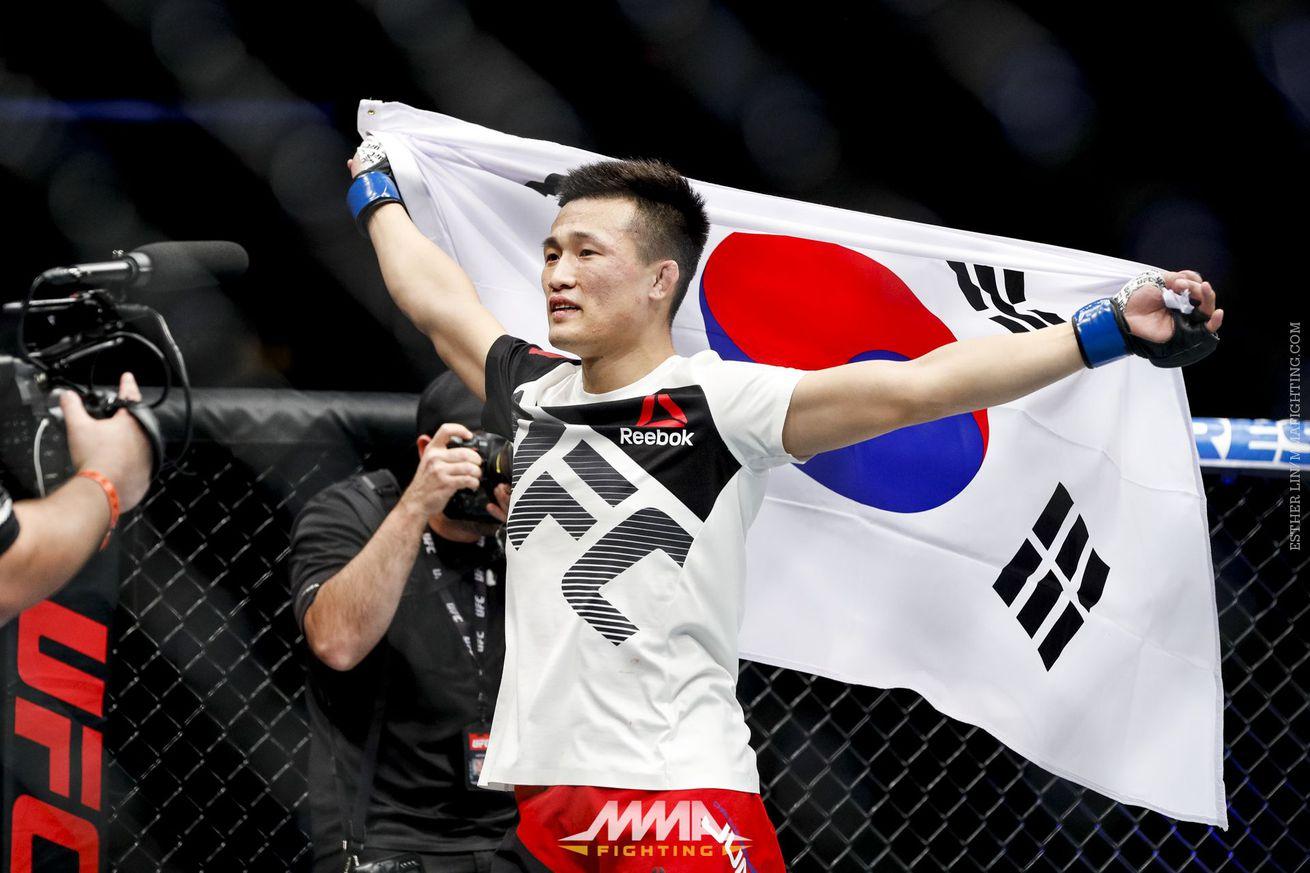 community news, Korean Zombie headlines best Fight Night ratings in one year