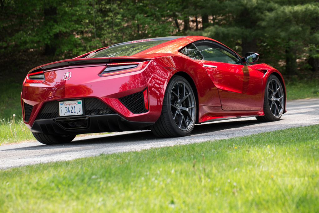 2017 Acura NSX review: a gentler supercar   The Verge