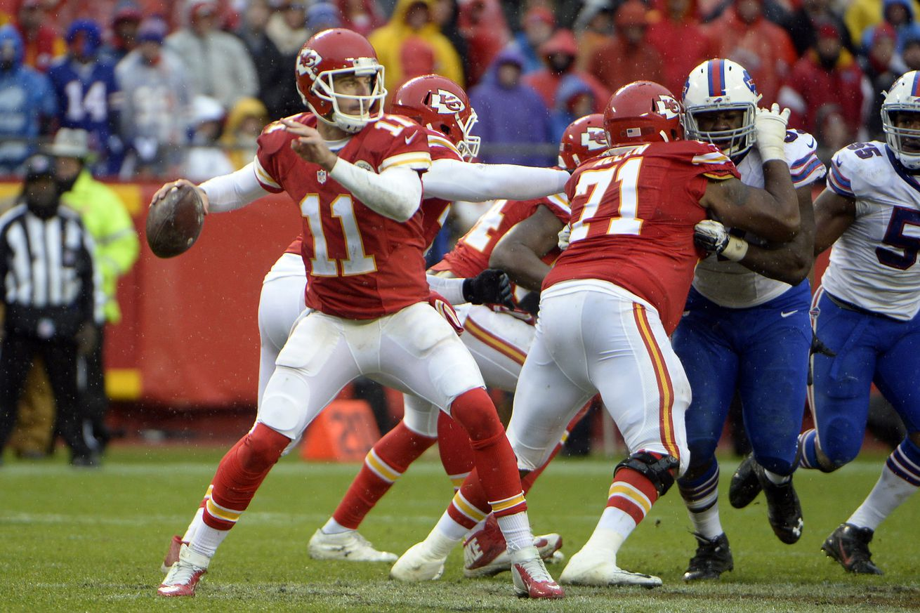 We watched every Alex Smith pass from 2015. Here's what we learned ...