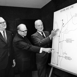 From the February 24, 1972 signing of the Second Avenue subway contract