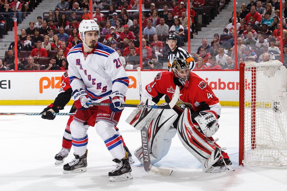 Senators 6 Rangers 5: Pageau The Man With Four Goals