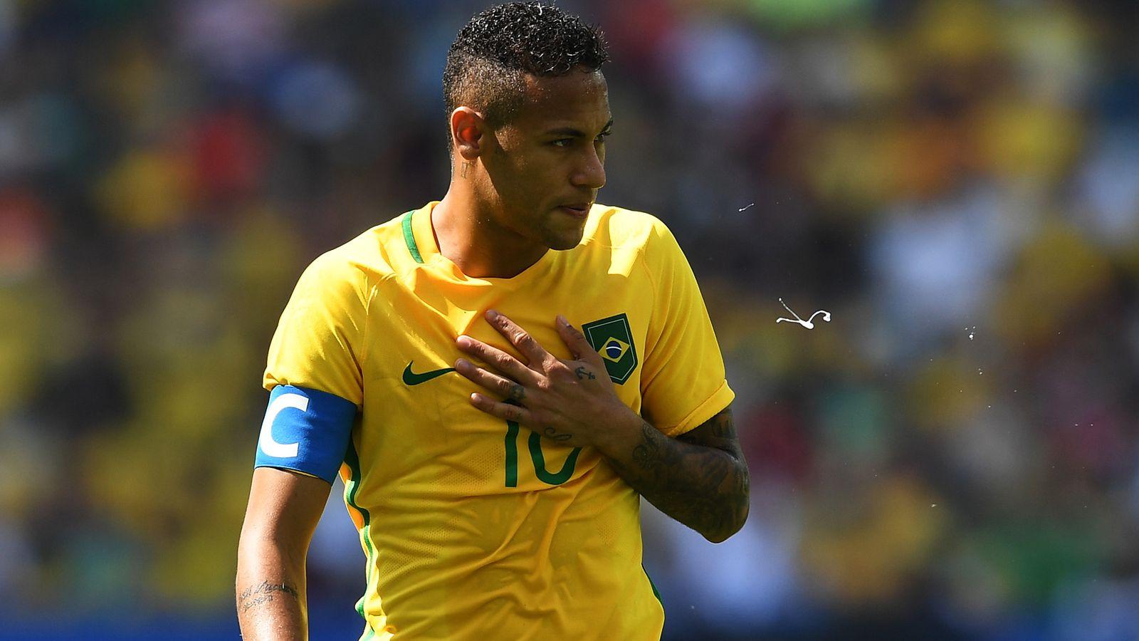 Brazil Vs Honduras 2016 Final Score 6 0 Neymar Leads