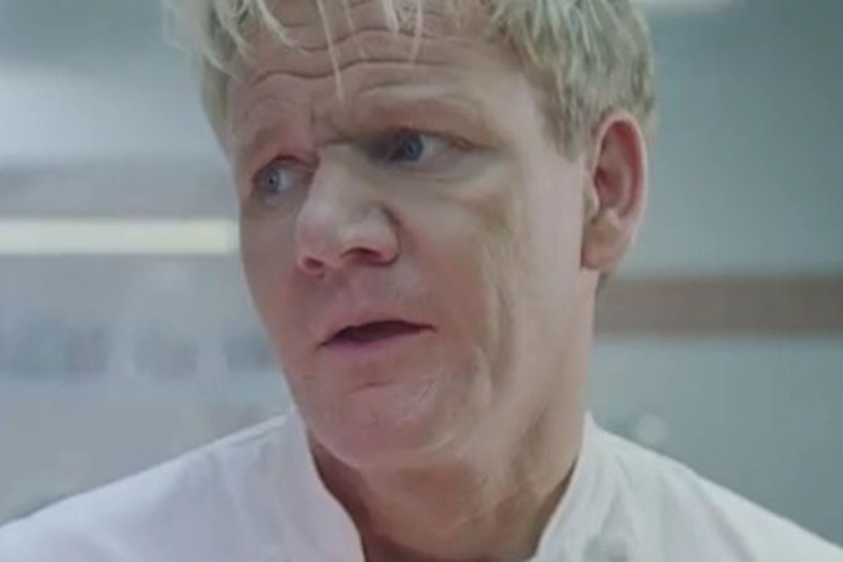 watch gordon ramsay s steamy specsavers ad eater there s no need to give away the ending to this commercial or anything but it s probably not super difficult to figure out on your own it s an ad for