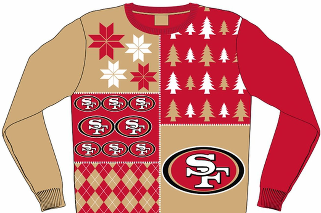 Nike 49ers Men's Ugly Sweater