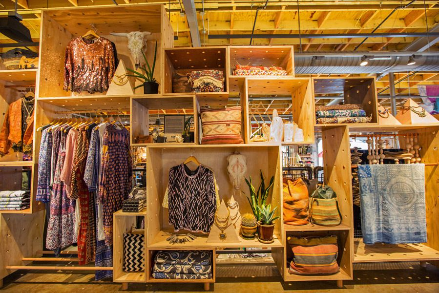 Inside Urban Outfitters Massiv on Urban Outfitter Retail Store Interior Design
