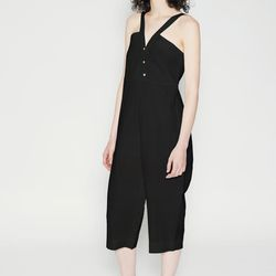 """Wray <a href=""""https://tictail.com/s/shopwraycollection/gamos-jump-black"""">Gamos Jumpsuit</a>, $144"""