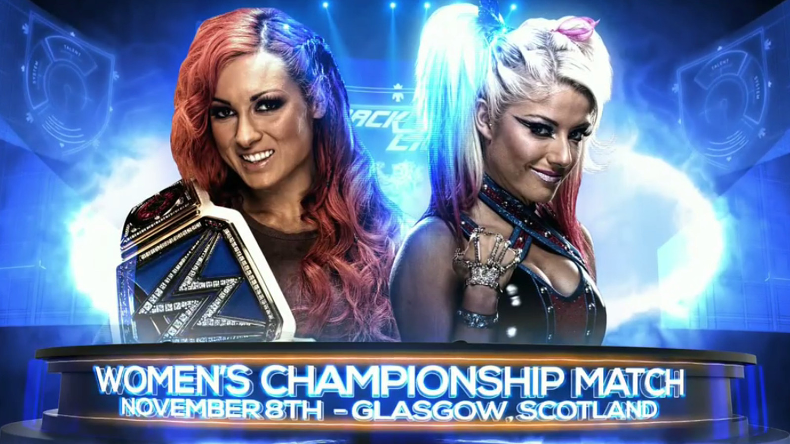 alexa bliss vs becky lynch tlc full match