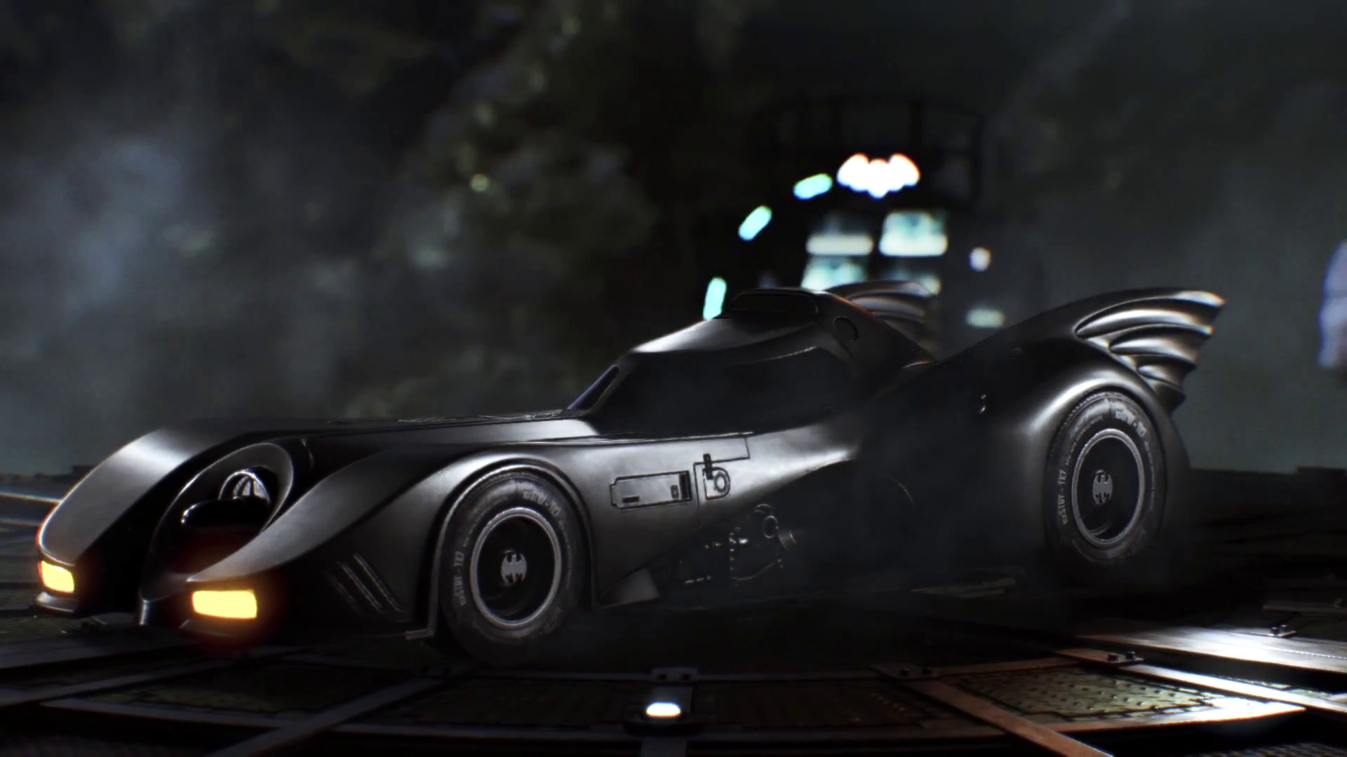 Batman Arkham Knight Gets Dark Knight S Tumbler Next Month 1989