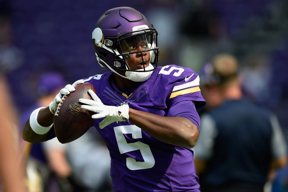 Vikings exercise 5th-year option on Barr, not Bridgewater