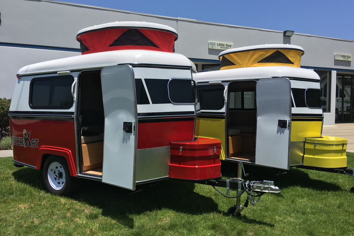 The Tiny Meerkat Camper Can Be Towed By Almost Any Car