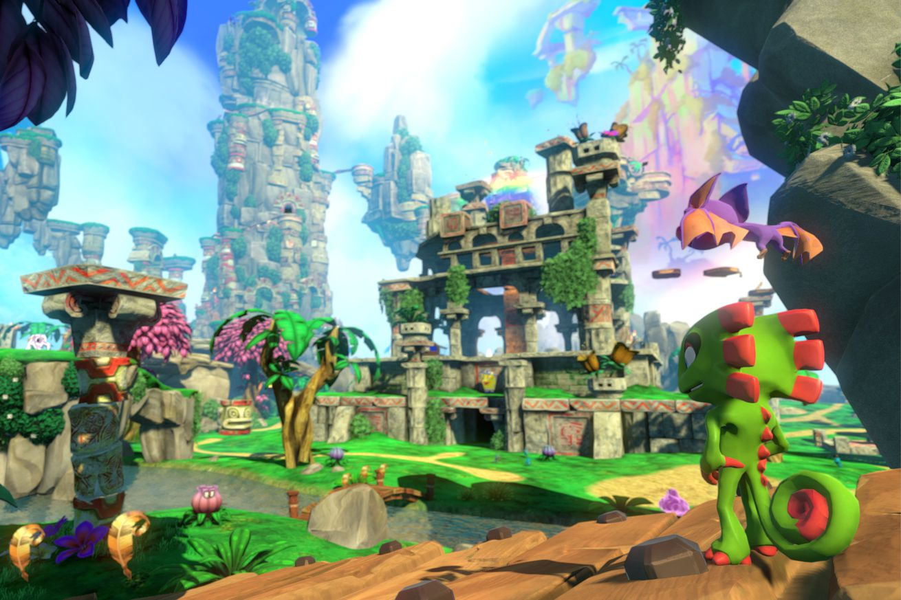 Yooka-Laylee channels the best of gaming's 3D platforming past